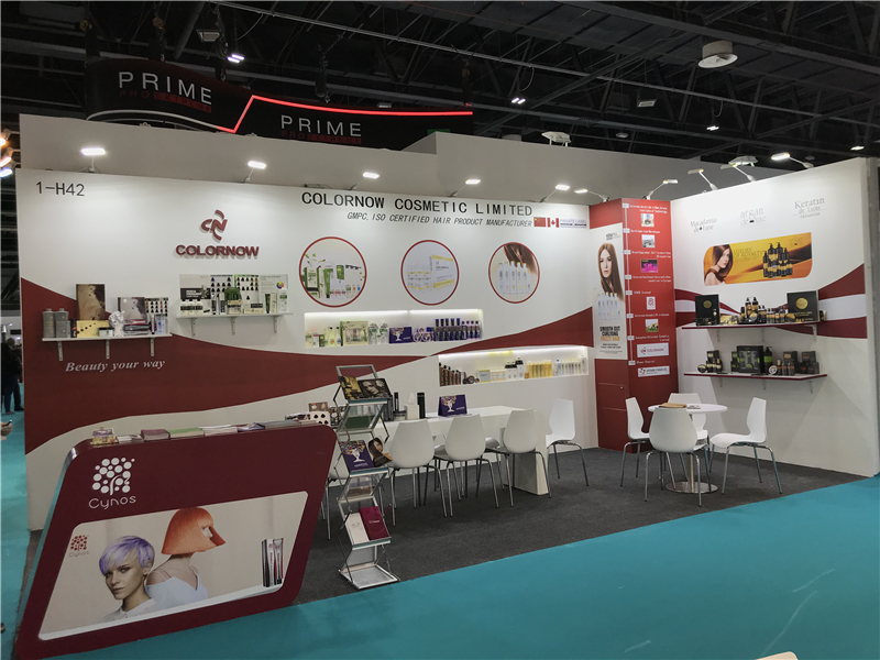 Colornow at Beautyworld Middle East 2018 - Colornow Cosmetic