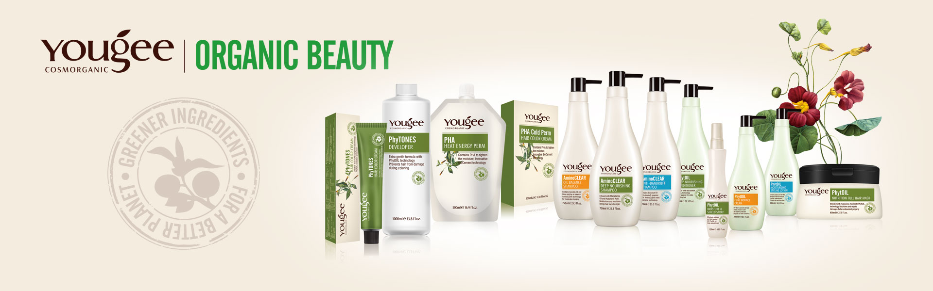 Yougee Organic Natural Hair Care Products